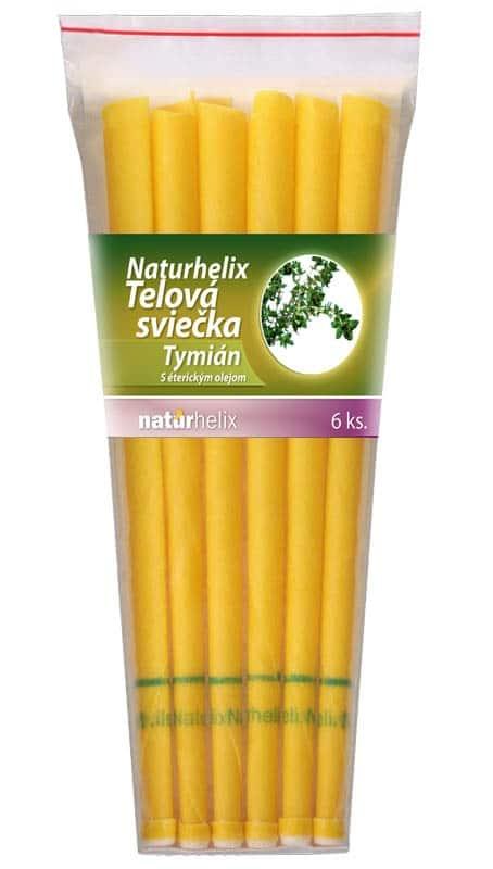 NaturheliX® Telové sviečky TYMIAN-MATERINA DÚŠKA(set6)