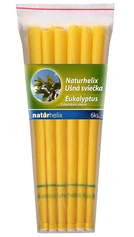 NaturheliX® Ušné sviečky EUKALYPTUS (set6)