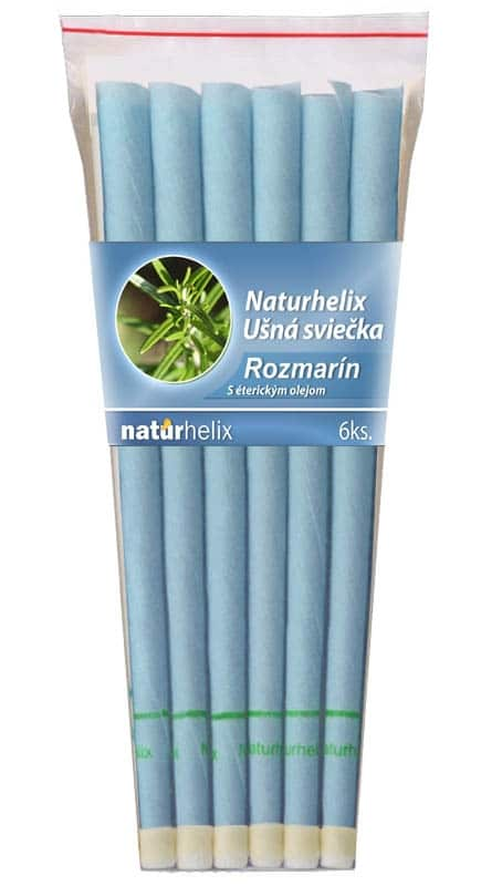NaturheliX® Ušné sviečky ROZMARÍN (set6)