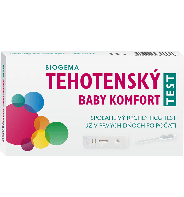Biogema Test tehotenský BABY komfort