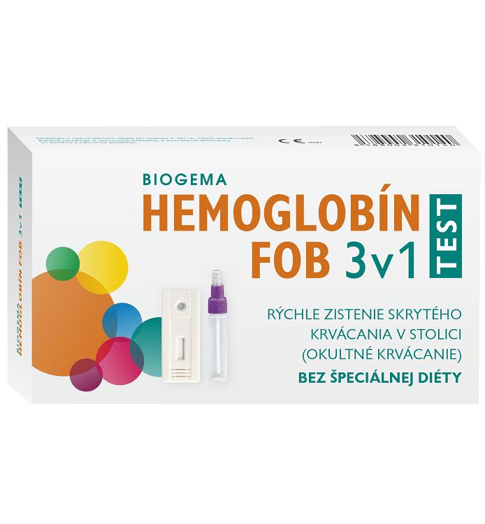 Hemoglobín Test 3v1 na okultné krvácanie