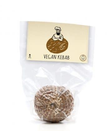 Vegánska údenina na spôsob kebabu