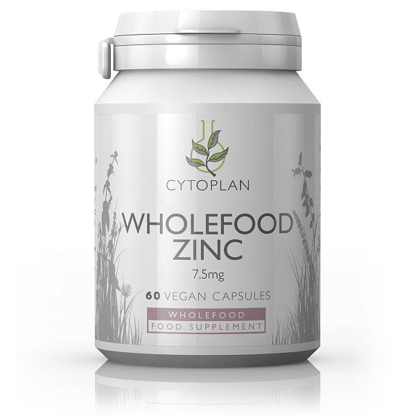 Wholefood Zinc - Zinok z rastlinného zdroja, 60 kapsúl