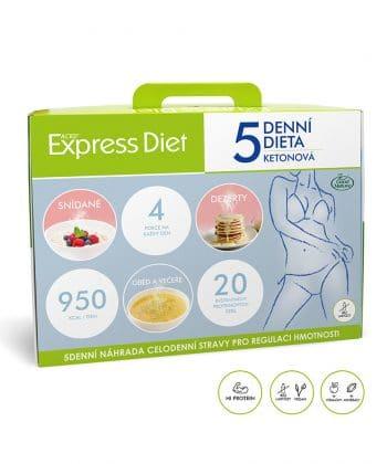 5 dňová diéta EXPRESS DIET 20 jedál, 1 180 g - nová receptúra bez laktózy