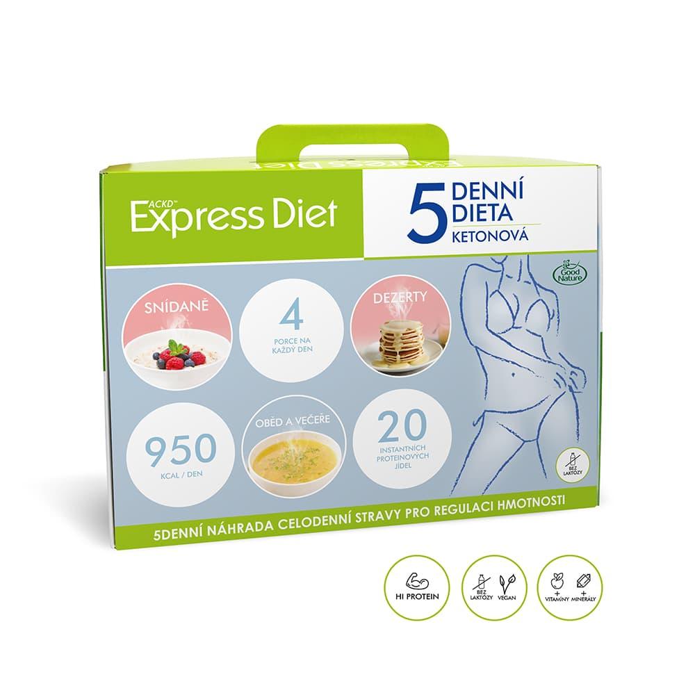 5 dňová diéta EXPRESS DIET (20 jedál)